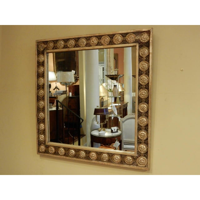 Italian Early 19th.c. Italian Gold Leaf Mirror For Sale - Image 3 of 6