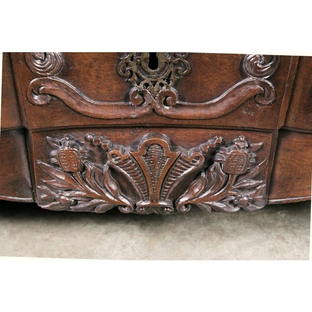 Brown 18th Century French Louis XV Commode For Sale - Image 8 of 10