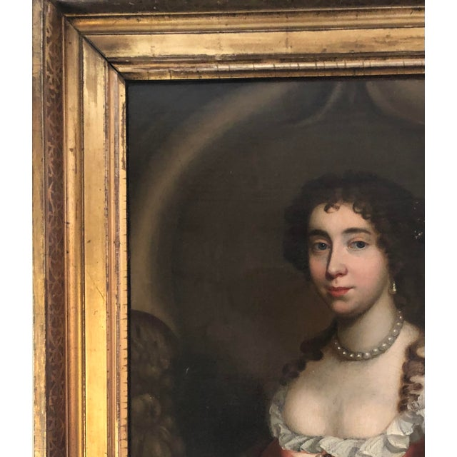 17th Century 17th Century Oil on Canvas Painting For Sale - Image 5 of 13
