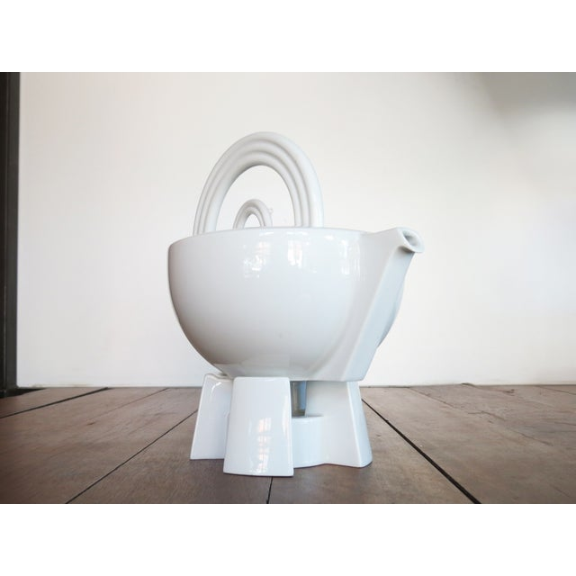 Mario Bellini 'Cupola' Teapot with Stand - Image 6 of 10