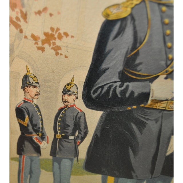 U.S. Military Academy Color Lithograph C.1888 - Image 9 of 10