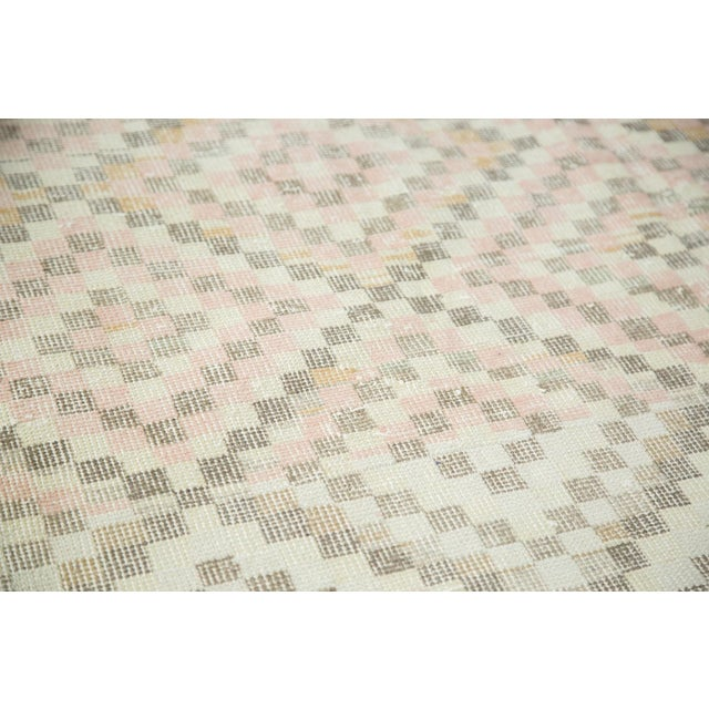 "Vintage Oushak Distressed Square Rug - 5'4"" X 5'5"" - Image 4 of 7"