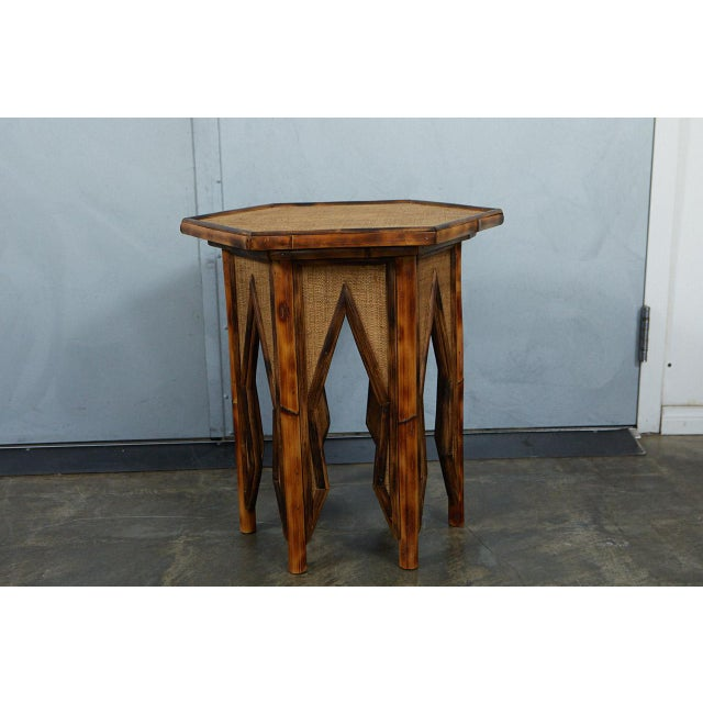 We have used Victorian Bamboo Furniture as inspiration for our Tiger Bamboo hexagonal side table. This tiger bamboo side...