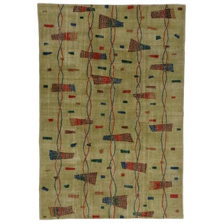 Zeki Müren Turkish Art Deco Rug With Contemporary Abstract Style, 07'02 X 10'06