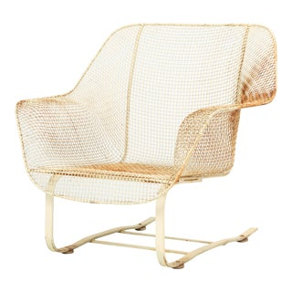 Sculptura Rocking Lounge Chair by Russell Woodard For Sale
