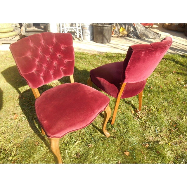French Fireside Dining Chairs - A Pair - Image 8 of 8