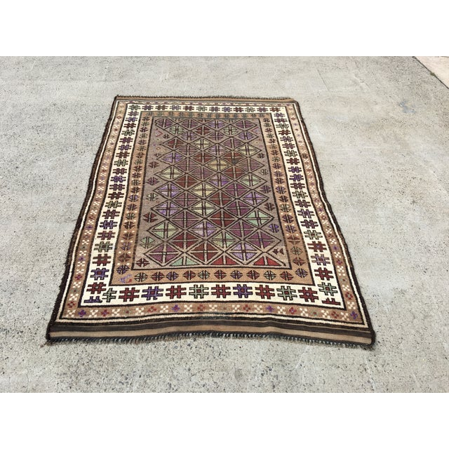 "Turkish Oushak Rug - 4'2"" x 6'3"" - Image 2 of 7"