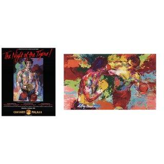 LeRoy Neiman - Rocky vs. Apollo & LeRoy Neiman - the Night of the Tigers For Sale