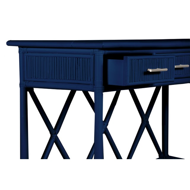 David Francis Aruba Sideboard - Navy Blue For Sale - Image 4 of 5