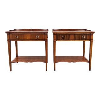 Assi D'Asolo Italian Fruitwood SideTables - a Pair For Sale