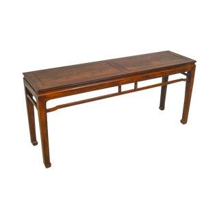 Henredon Vintage Asian Style Mahogany Console Table