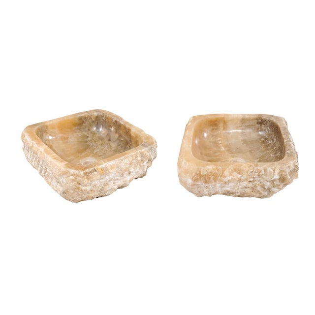 Pair of Natural Onyx Sink Basins For Sale - Image 12 of 12