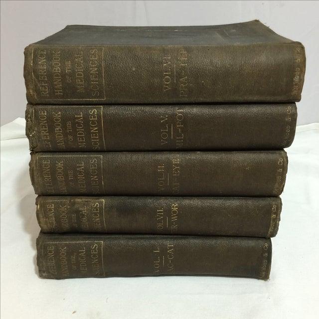 Large Antique Medical Books - Set of 5 - Image 2 of 9
