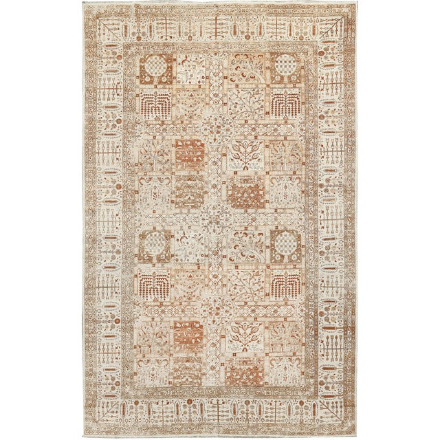 "Traditional Hand Woven Rug - 10'5"" x 16'6"" For Sale"