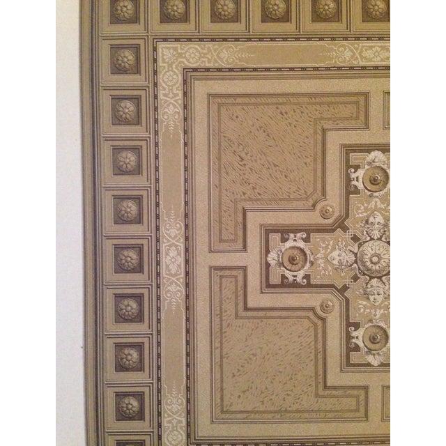 German Architectural Decorative Deutsches Maler Journal Chromolithograph - Image 4 of 4