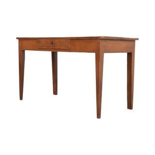 English 19th Century Pine Writing Table For Sale
