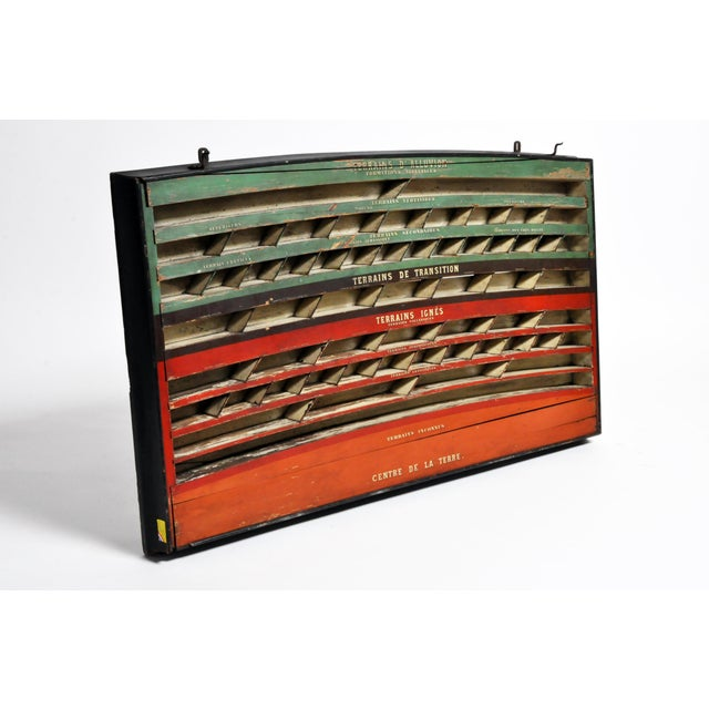 Mid 20th C. French Geology Wall Display For Sale - Image 4 of 13