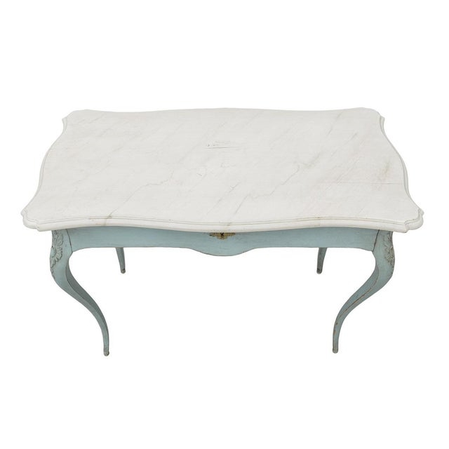 20th Century French Country Writing Desk For Sale - Image 4 of 5