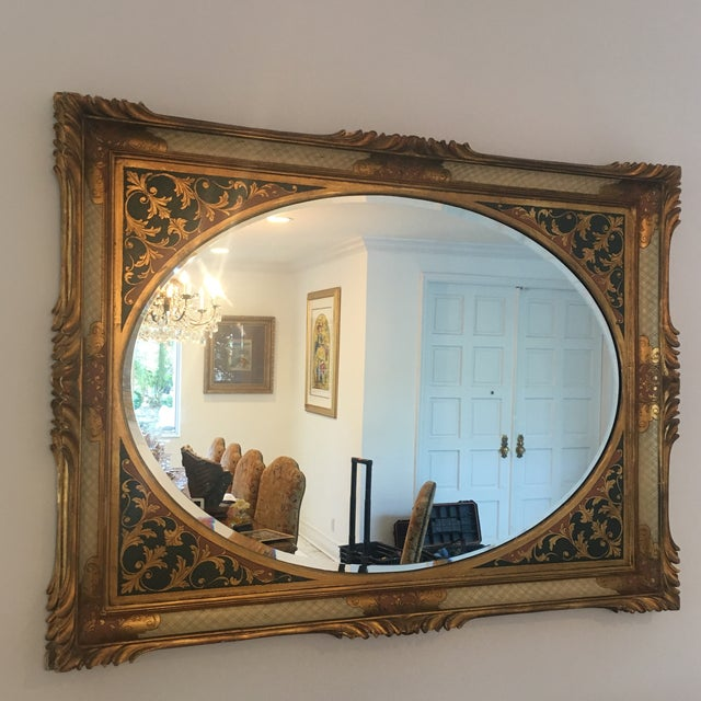 Vintage Ornate Mirror - Image 2 of 7