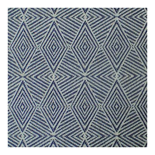 Triad Danish Blue Fabric - 1 Yard For Sale