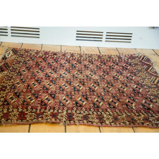 """Antique Turkmen Square Rug - 2'8"""" X 3'1"""" - Image 2 of 9"""