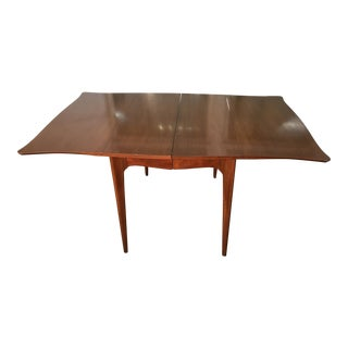 1990s Mid Century Modern Drexel Dining Table For Sale