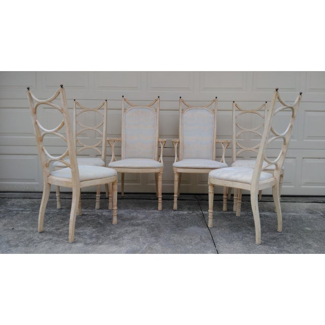 Tomlinson Pavane Mid-Century Dining Chairs - Set of 6 - Image 2 of 8