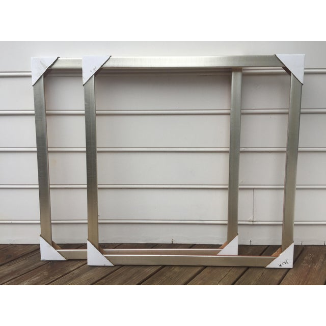 Large Square Roma Moulding Frames - A Pair - Image 10 of 11