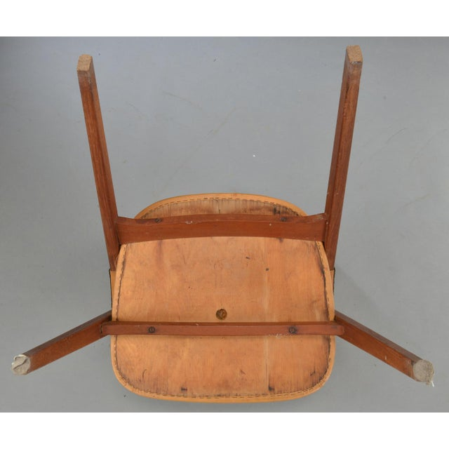 Vintage Mid Century Teak Armchairs- Set of 4 For Sale In Boston - Image 6 of 10