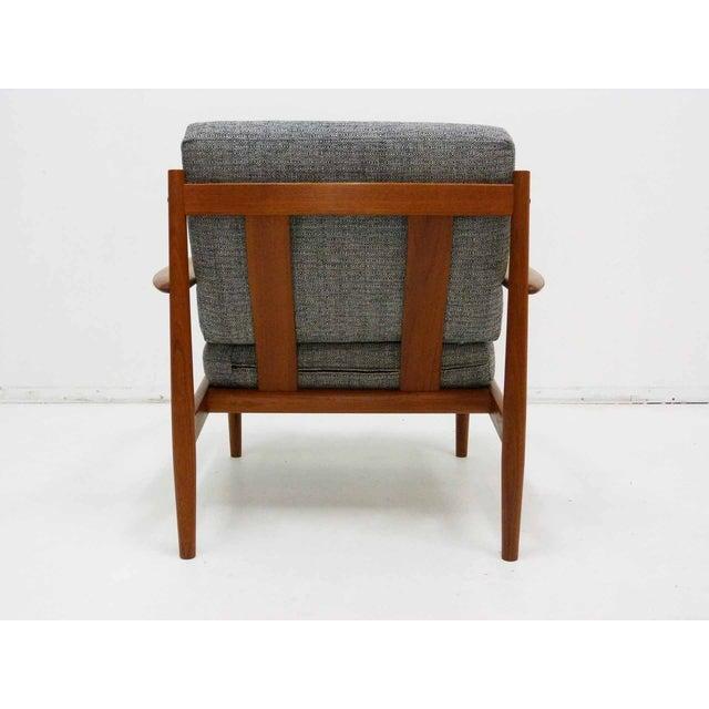 Danish Modern Grete Jalk Teak Lounge Chair For Sale - Image 5 of 10