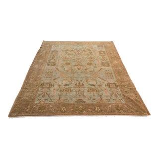 Turkish Oushak Carpet - 8′11″ × 12′3″ For Sale