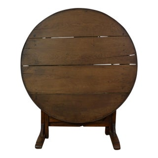 19th Century Wine Tasting Table For Sale