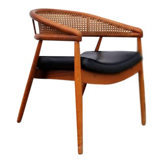 1950s James Mont Thonet Bentwood Chair For Sale
