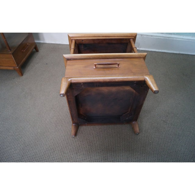 Heritage Henredon Mid Century End Tables - Image 10 of 10