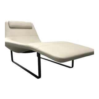 White Italian Chaise Lounge