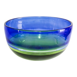 1990s Dansk Glass Bowl