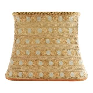 Custom Mid Century Modern lampshade For Sale