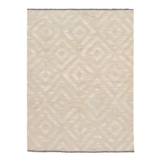 21st Century Contemporary Turkish Kilim Wool Rug For Sale