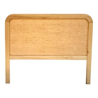 20th Century Americana Exotic Birds-Eye Maple Full Headboard For Sale