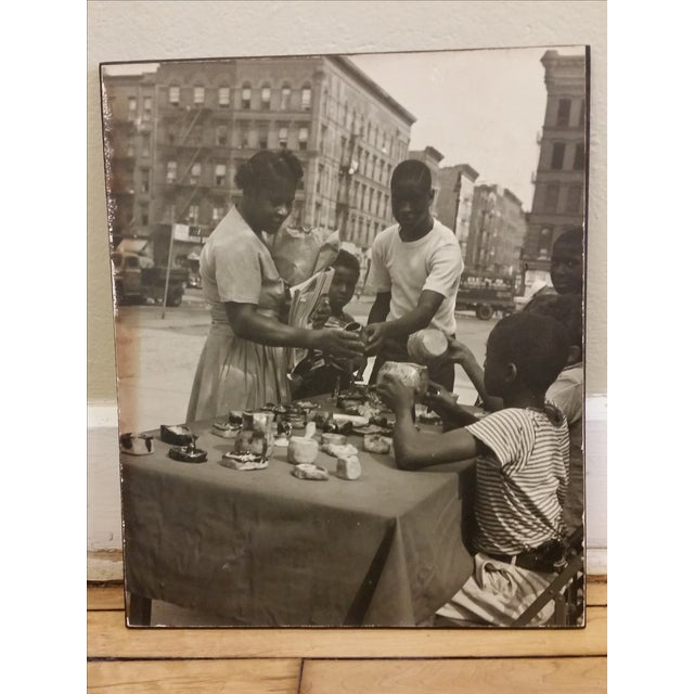 1950s Inner City Black & White Photo - Image 2 of 6