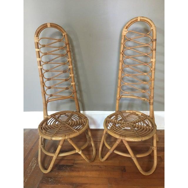 Dirk Van Sliedregt Dirk Van Sliedregt Rohe Noordwolde Chairs - a Pair For Sale - Image 4 of 4