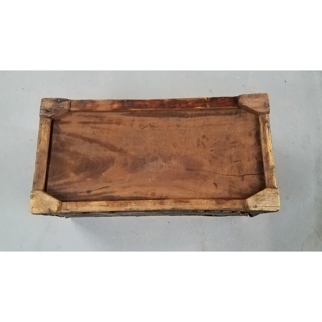 Animal Skin 19th Century Nautical Royal Navy Officer's Campaign Chest For Sale - Image 7 of 13