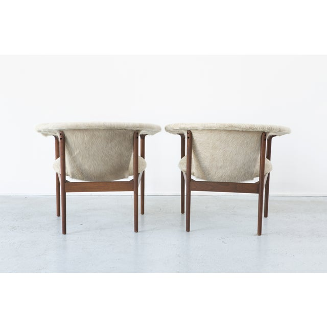 Set of Adrian Pearsall Lounge Chairs - Image 5 of 11