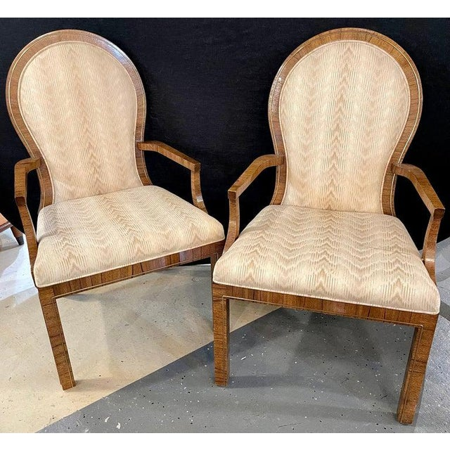 Milo Baughman Arm or Office Chairs, Mid-Century Modern, Mastercraft - a Pair For Sale - Image 4 of 12