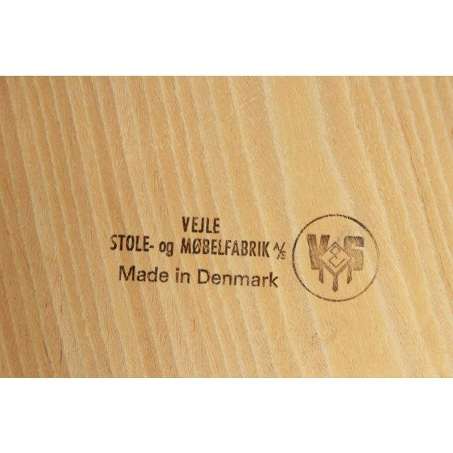 Rosewood Henning Kjærnulf for Vejle Stole Danish Modern Rosewood Side Tables - a Pair For Sale - Image 7 of 7