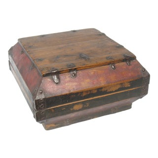 Chinese Reclaimed Wood Storage Box, 1990s For Sale