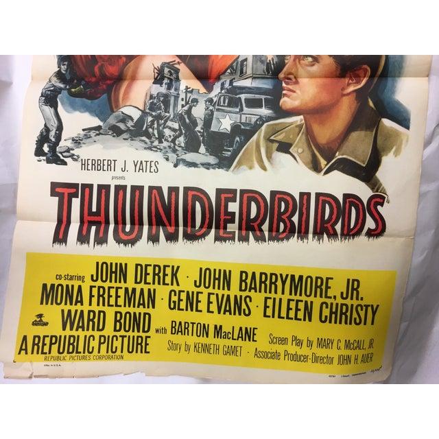 1952 Original Thunderbirds Movie Poster - Image 7 of 10