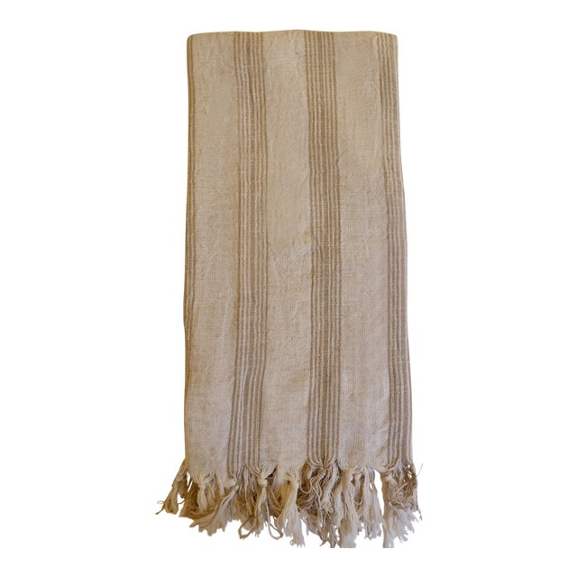 Turkish Hand Made Towel With Natural/Organic Cotton and Fast Drying,37x73 Inches For Sale