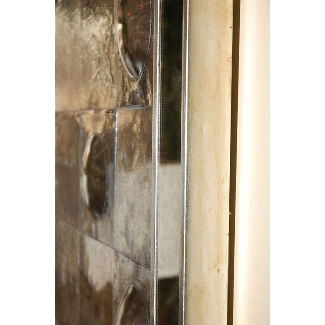 Wood Paul Marra Contemporary Convex Mirror For Sale - Image 7 of 8