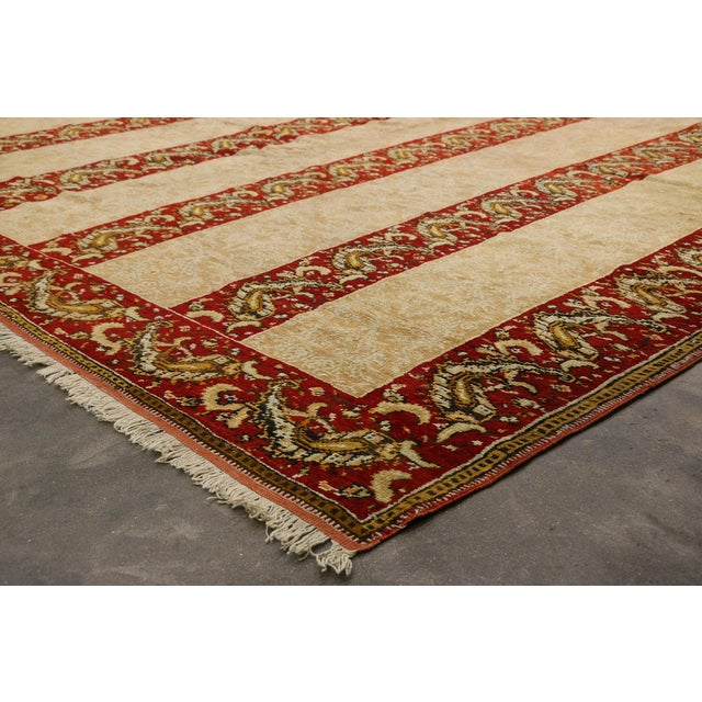 Antique Turkish Oushak Rug - 16'00 X 15'07 For Sale In Dallas - Image 6 of 10